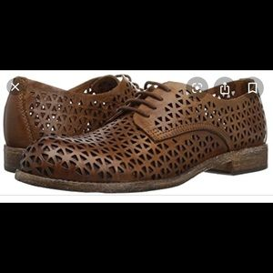Shoes - Patricia Nash brown spring/summer leather shoes